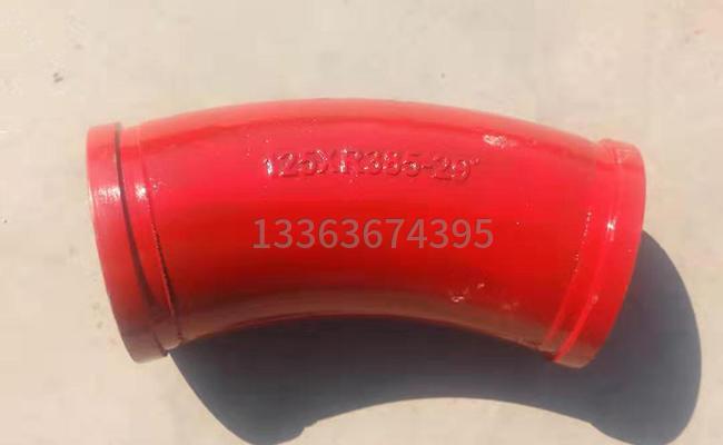 泵车泵管弯头上的字母代表什么