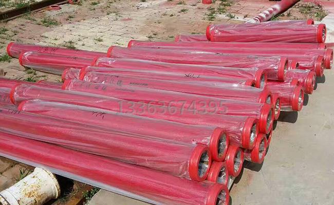 不同长度的耐磨泵管