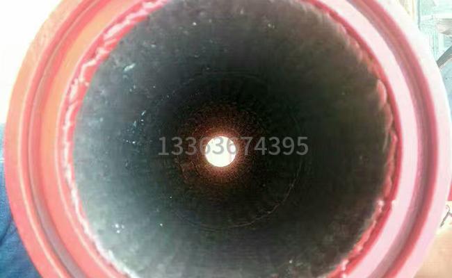 通铺耐磨焊的泵车变径管