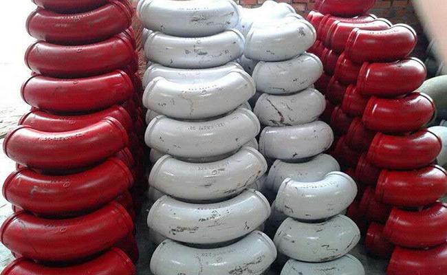 铸钢泵车弯头